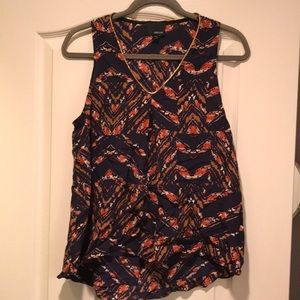 GREYLIN Patterned Top